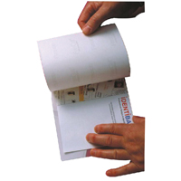 Image for Identibadge Self-Seal A6 Laminating Card (Pack of 50) SSC6/50