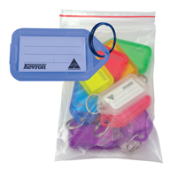 Image for Kevron Clicktag Plastic Blue (Pack of 100) plus 20 Standard Key Tags FOC