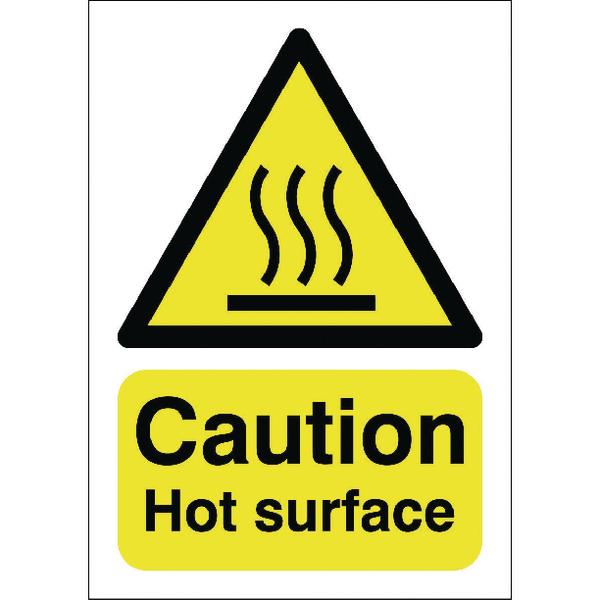 Caution Hot Surface A5 S/A HA04151S