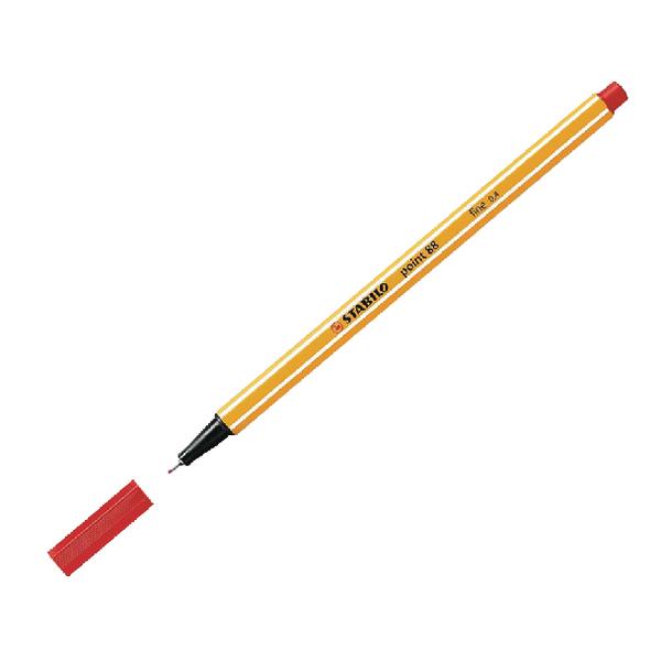 Stabilo Point 88 Fineliner Pen Red 88/40