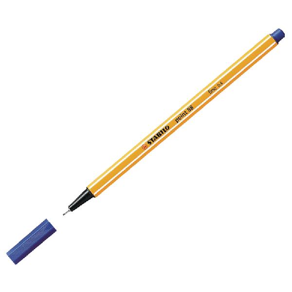 Image for STABILO point 88 Fineliner Pen Blue 88/41