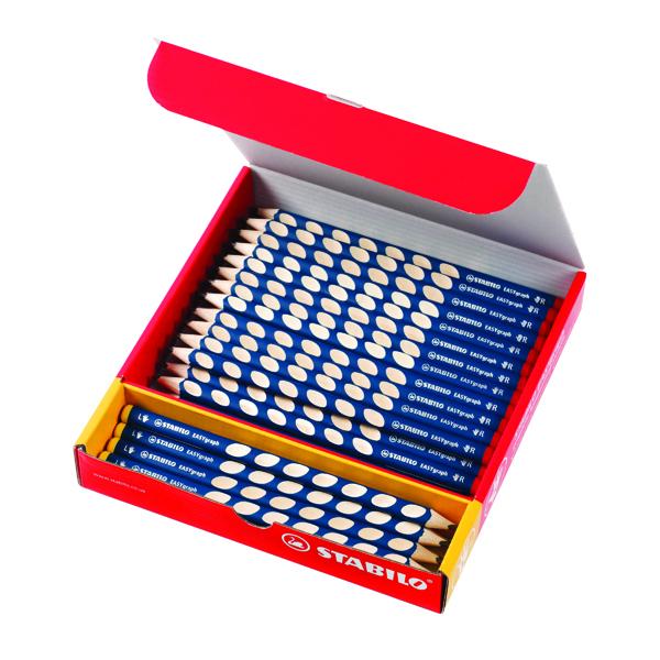 STABILO EASYgraph HB Pencils Classpack (48 Pack) UK/321-2HB/48