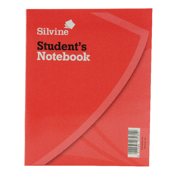 Image for Silvine Exercise Book 200x160mm 40 Leaf Ruled Feint (Pack of 24) 144