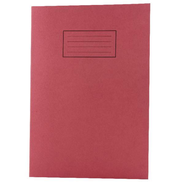 Image for Silvine Red A4 Ruled Exercise Book (Pack of 10) EX107