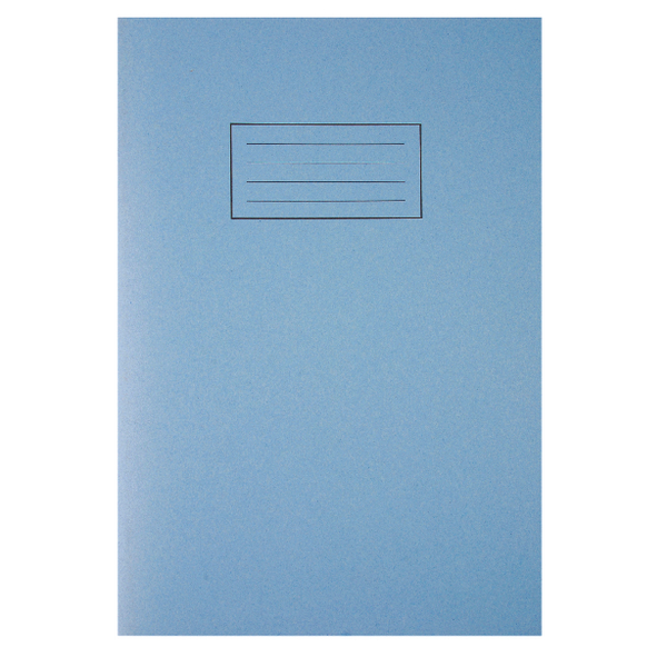 Image for Silvine Blue A4 Ruled Exercise Book (Pack of 10) EX108