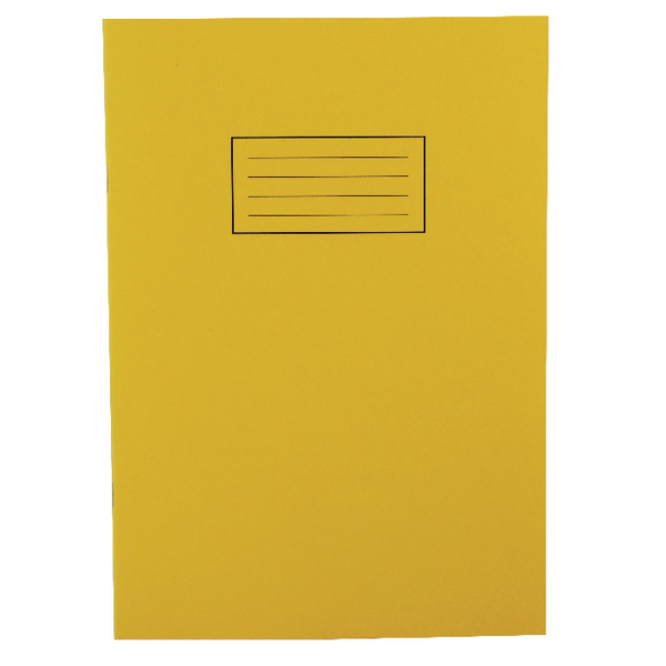 Image for Silvine Yellow A4 Ruled Exercise Book (Pack of 10) EX109