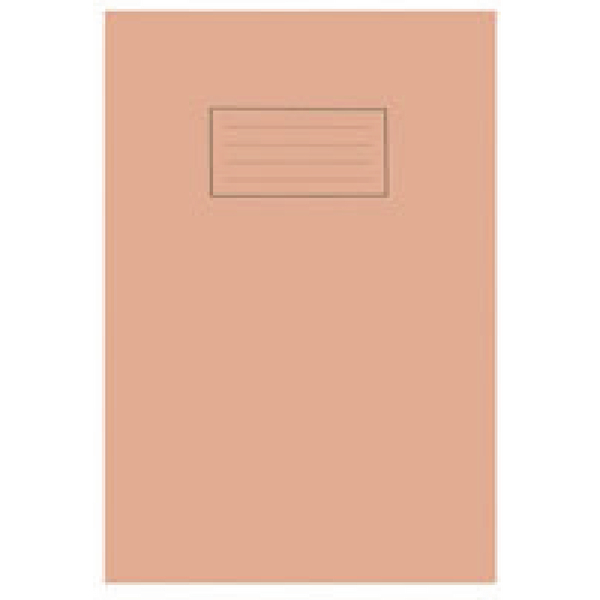 Image for Silvine 5mm Squares Orange A4 Exercise Book 80 Pages (Pack of 10) EX113