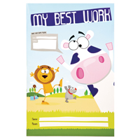Image for Silvine My Best Work Book (10 Pack) EX501