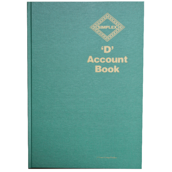 Simplex D Accounts Book D