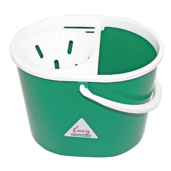 Lucy 15 Litre Green Mop Bucket L1405293