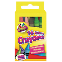 Tallon Assorted Wax Crayons Pk192