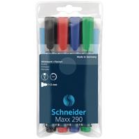 Schneider Maxx 290 Wboard Markers Astd