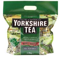Yorkshire Tea Hard Water Tea Bags (Pack of 480) 1039