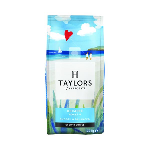 Taylors Decaffeinated Roast & Ground Coffee 227g 3687