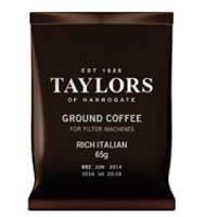 Taylors Rich Italian Coffee 65g Pouches (Pack of 50) 3843