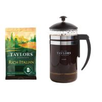 Taylors Italian Coffee 45g FOC Cafetiere
