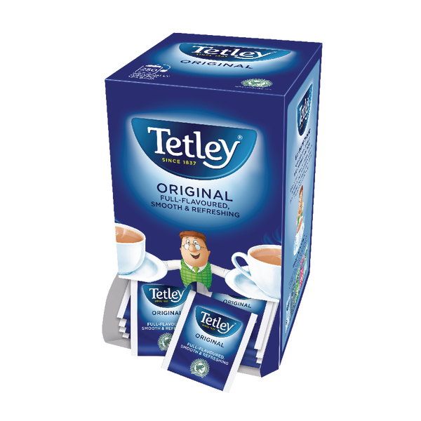 Tetley Individual String and Tag Tea Bags (250 Pack) 1159Y