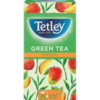 Tetley Green Mango Tea Pk25 1578A