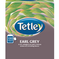Tetley Earl Grey String and Tag Tea Bags (Pack of 100) 1243Y