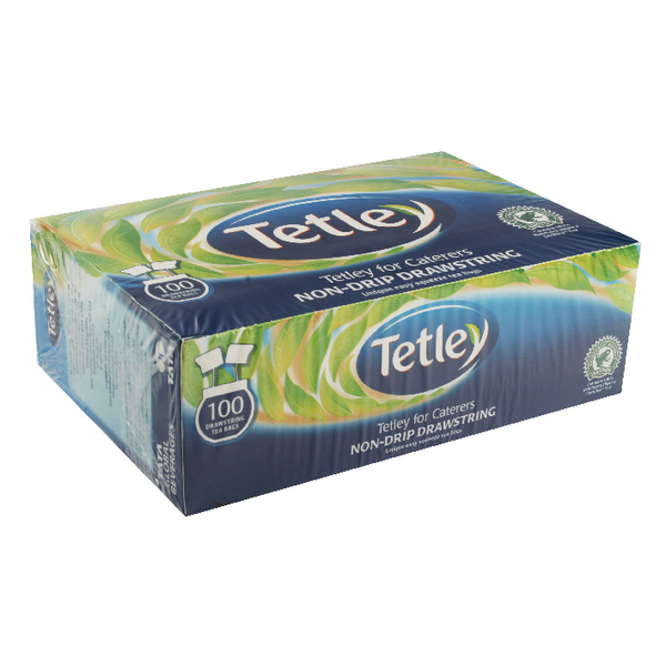 Tetley Drawstring Tea Bag (100 Pack) 1050A