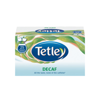 Tetley Draw String Tea Bag Decaffeinated Pack of 25 1285B