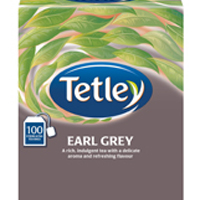 Tetley Earl Grey String/Tag Tea Bags (Pack of 200)