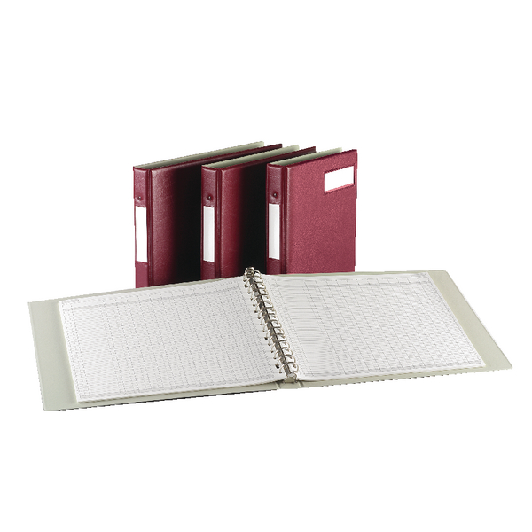 Rexel Variform V4 Multi-Ring Binder Maroon 75149