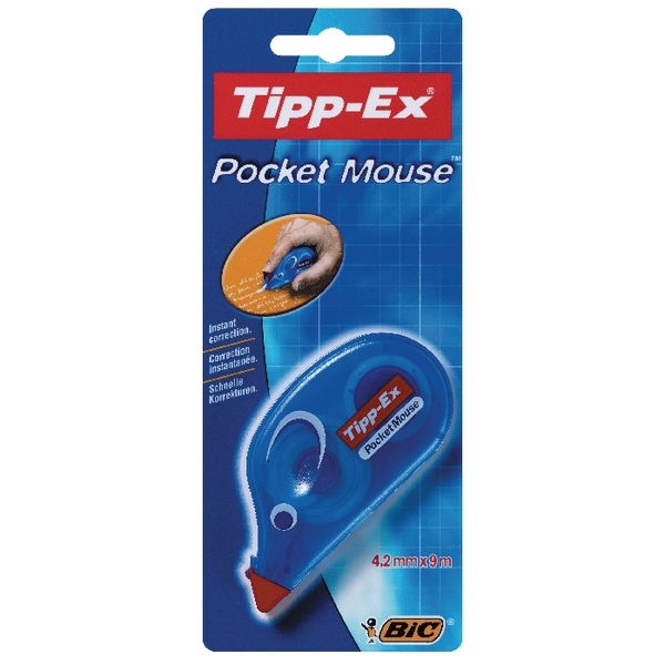 Image for Tipp-Ex Pocket Mouse Correction Tape Blister (Pack of 10) 820790