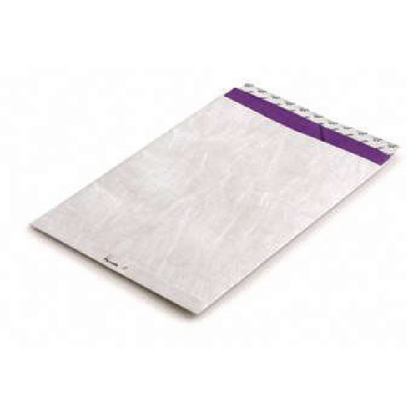 Image for Tyvek Envelope 324x229mm Peel and Seal White (Pack of 100) 555024