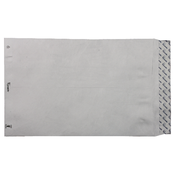 Image for Tyvek Envelope 381x254mm Peel and Seal White (Pack of 100) 557224