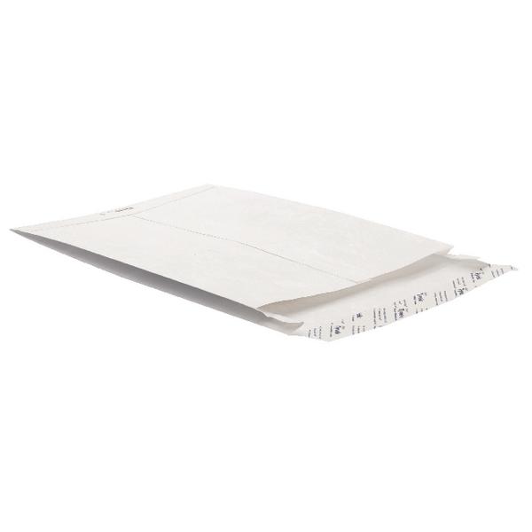 Tyvek Gusset Envelope 324 x 229 x 20mm Peel and Seal White (Pack of 100) 754924