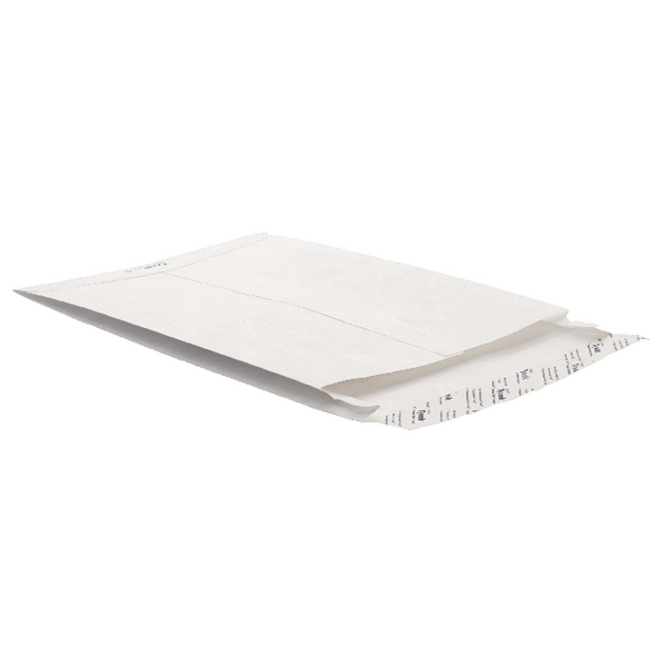 Tyvek 343x250x20mm Peel and Seal White Gusset Envelope (Pack of 20) 756924 P20