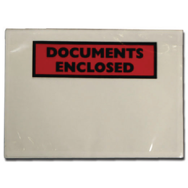 Documents Enclosed Self-Adhesive Document Envelopes A6 (Pk 1000) 4302002
