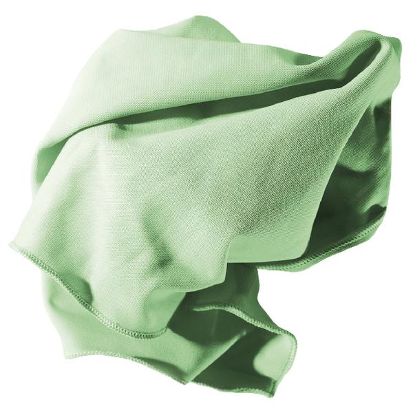 Unger Glass Microfibre Cloth 400 x 400mm Green 95516D