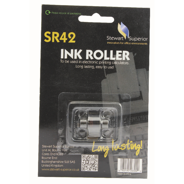 Image for Calculator IR40T Red and Black Ink Roller SPR42