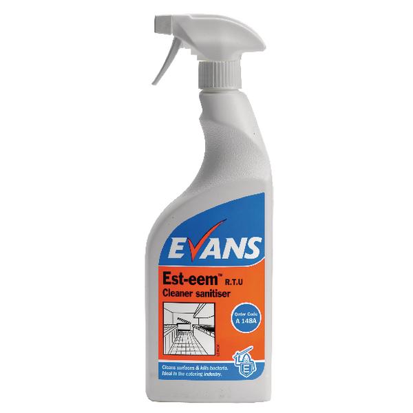 Evans Est Eem Cleaner Sanitiser 750