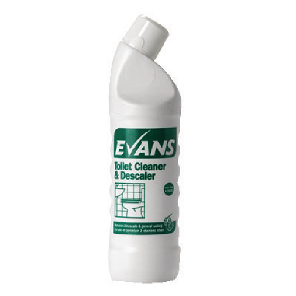 Evans Toilet Cleaner and Descaler 1L