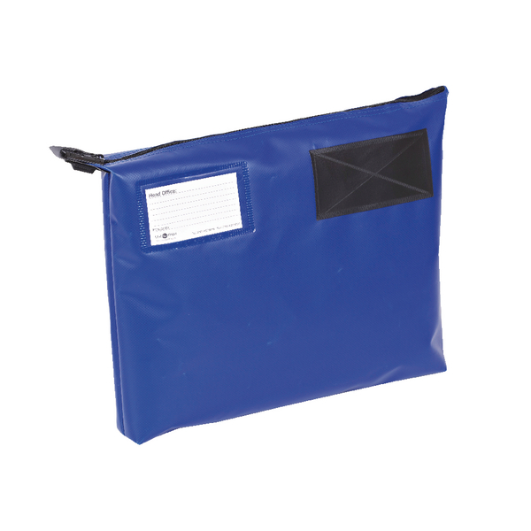 GoSecure Mail Pouch Blue 381x336x76mm GP1B