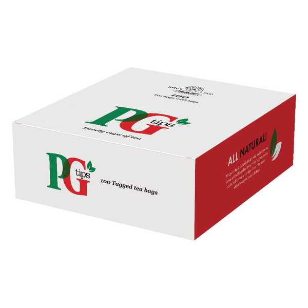PG Tips Tagged One Cup Tea Bags Pk100