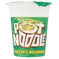 Pot Noodle Chicken and Mushroom (Pack of 12) 12034006