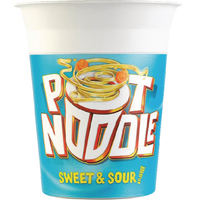 Pot Noodle Sweet and Sour (Pack of 12) 12034107
