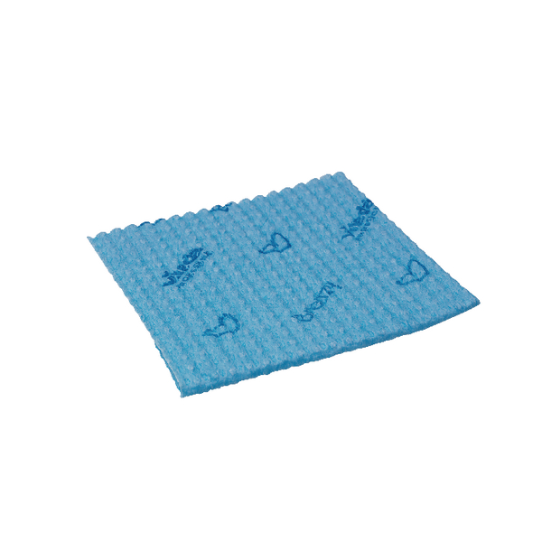 Vileda Breazy Blue Microfibre Cloth (Pack of 20) 137638