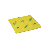 Vileda Breazy Yellow Microfibre Cloth (Pack of 20) 137641