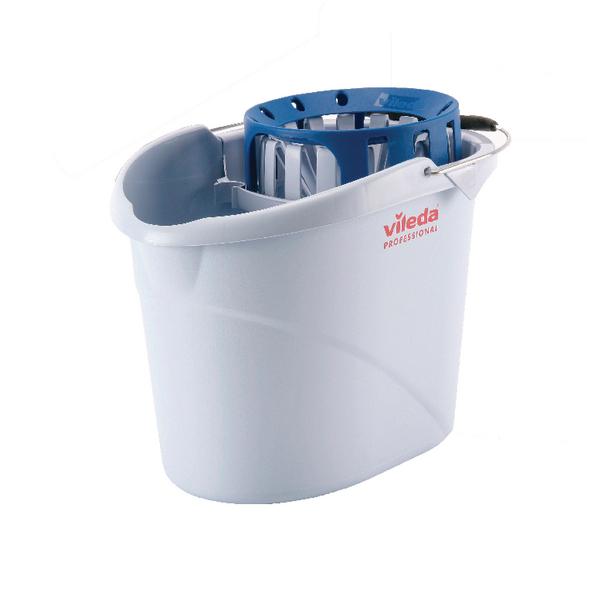 Vileda Supermop Bucket and Wringer Blue 138924