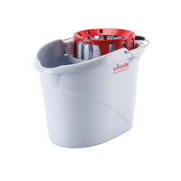 Vileda Supermop Bucket/ Wringer Red