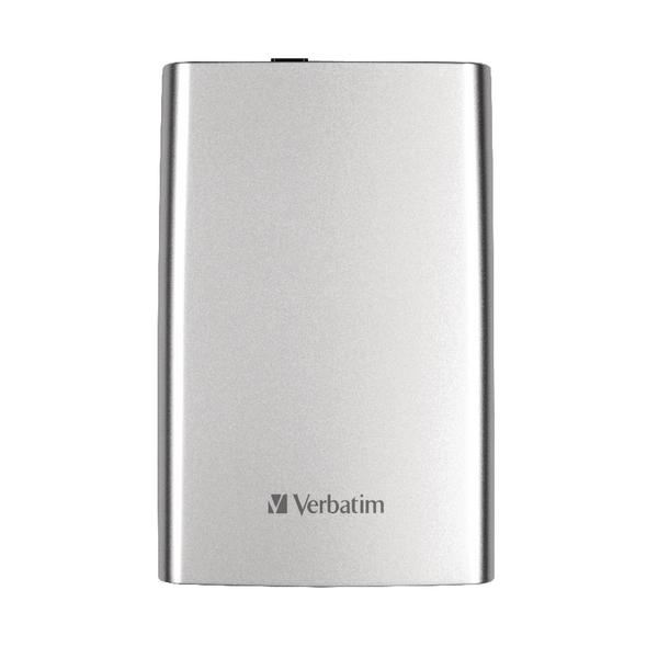 Verbatim Store n Go USB 3.0 Portable Hard Drive 1TB Silver 53071