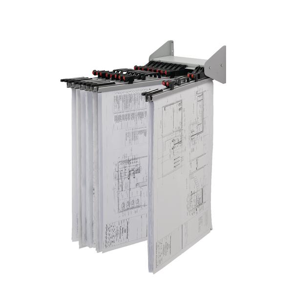Vistaplan Wall Display Carrier WDC
