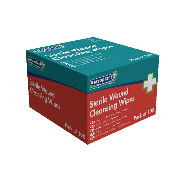 Wallace Cameron Alcohol-Free Wipes (Pack of 100) 1602023