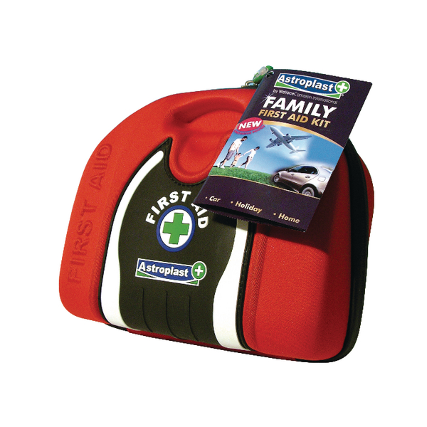 Astroplast Red Family First Aid Pouch