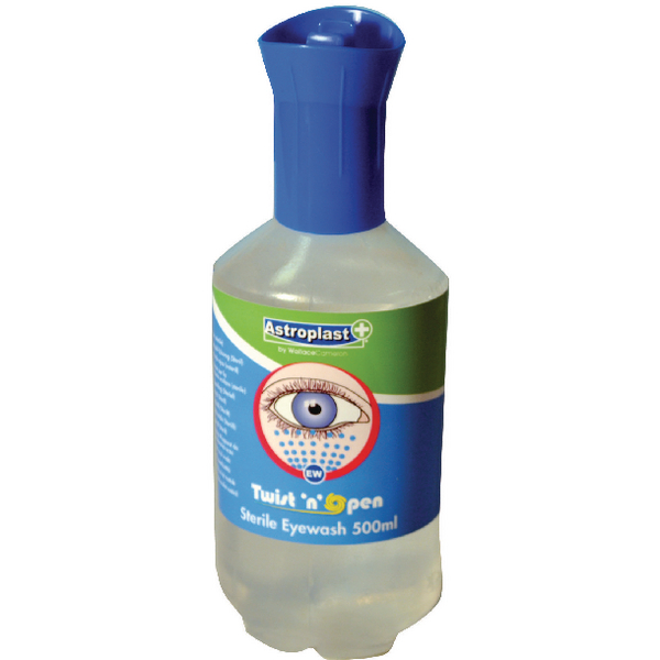 Wallace Cameron 500ml Sterile Eye Wash (Pack of 2) 2405093